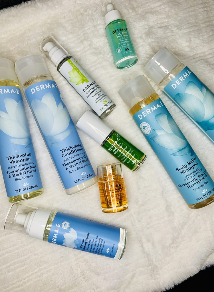 Natural Hair Care with Derma E!